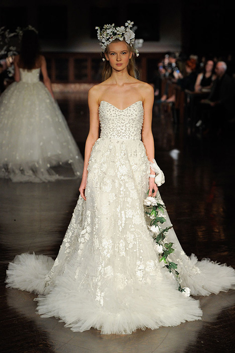Garden in Bloom Wedding                                          dress by Reem Acra