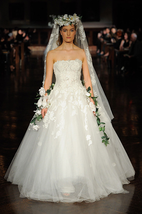 Gate to Eternity Wedding                                          dress by Reem Acra