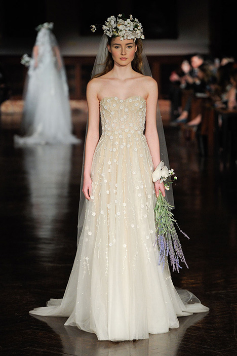 Love and Affection Wedding                                          dress by Reem Acra