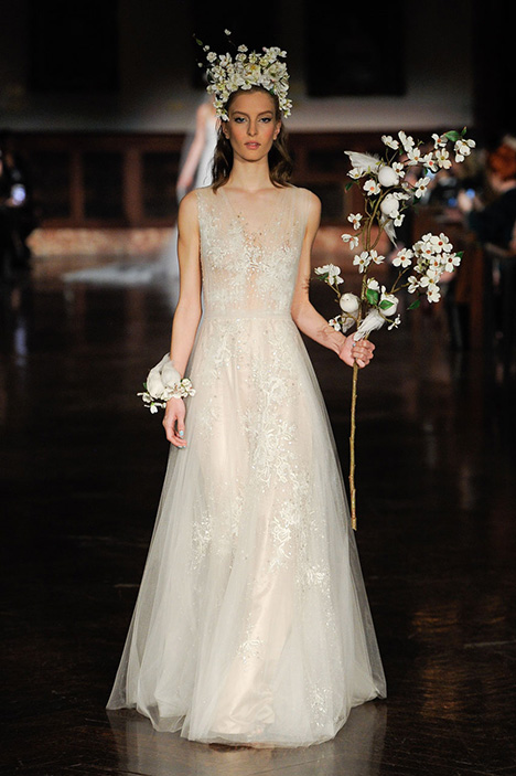Secrets of the Heart Wedding                                          dress by Reem Acra