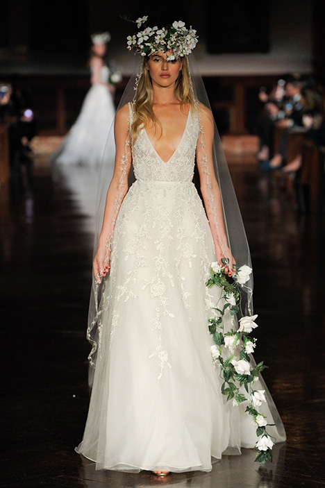 Sweet Bliss Wedding                                          dress by Reem Acra