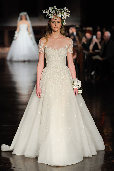 The Promised One Wedding                                          dress by Reem Acra