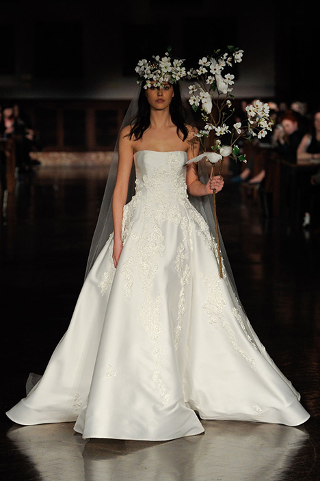 Winds of Heaven Wedding                                          dress by Reem Acra