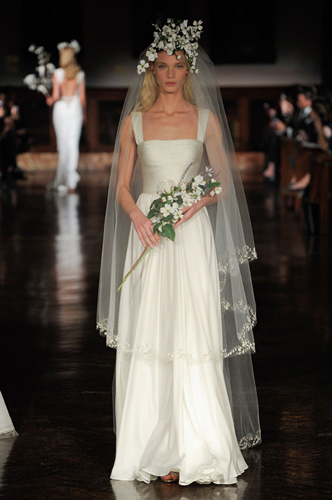 Wings of Desire Wedding                                          dress by Reem Acra