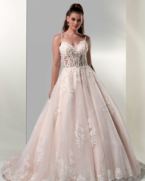 Style VE8767 gown from the 2019 Venus Bridal collection, as seen on dressfinder.ca