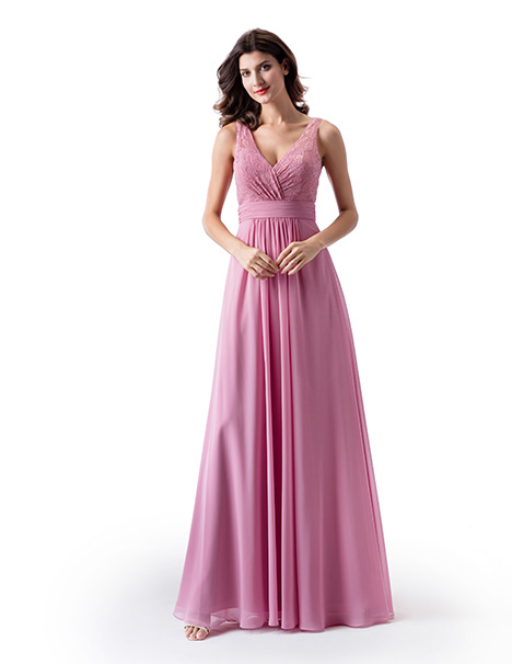 Style BM2312 gown from the 2019 Venus Bridesmaids collection, as seen on dressfinder.ca