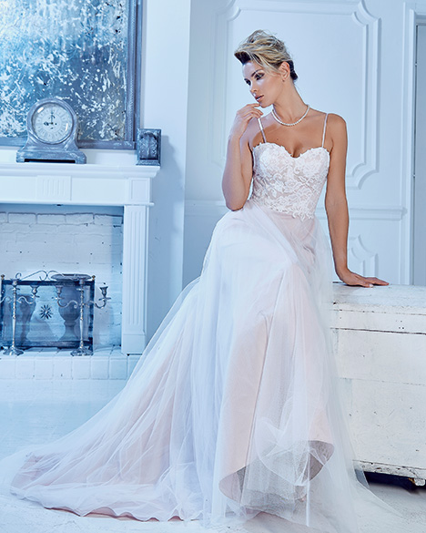 AT6675 Wedding                                          dress by Venus Bridal: Angel & Tradition