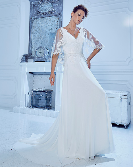AT6680 Wedding                                          dress by Venus Bridal: Angel & Tradition