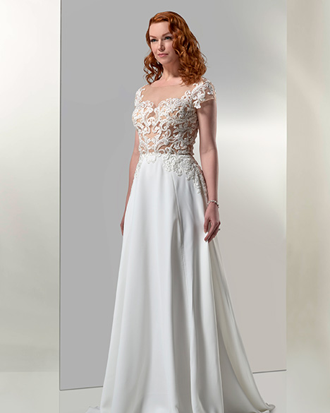 AT6684N Wedding                                          dress by Venus Bridal: Angel & Tradition
