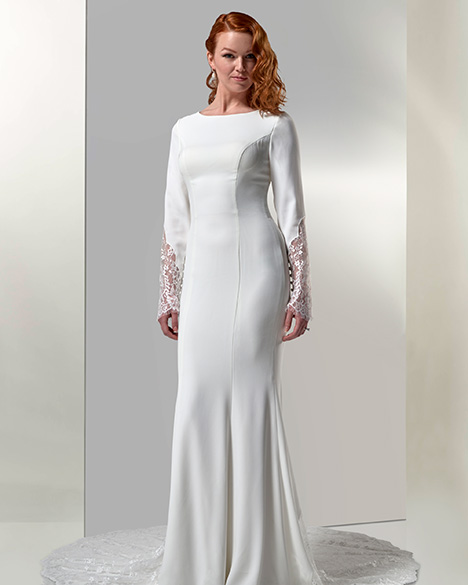 TB7766 Wedding                                          dress by Venus Modest