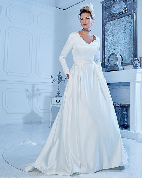 TB7770 Wedding                                          dress by Venus Modest