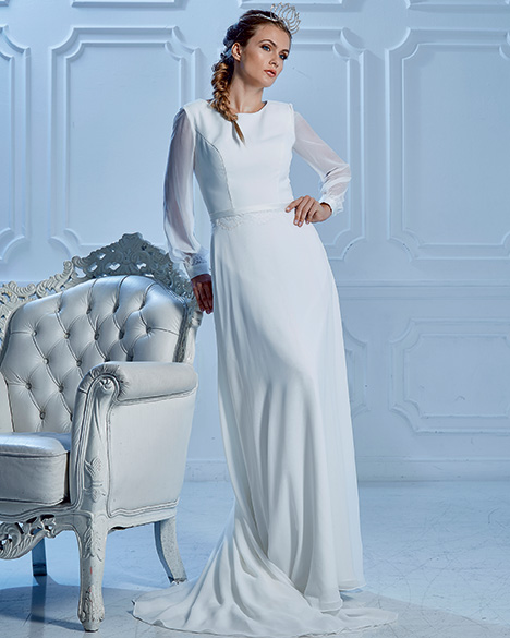 TB7772 Wedding                                          dress by Venus Modest