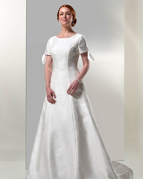 TB7773 Wedding                                          dress by Venus Modest