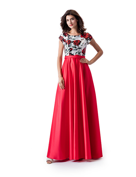 TP5657 Prom                                             dress by Venus Modest Prom