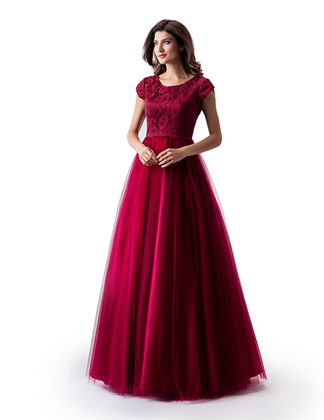 TP5663 Prom                                             dress by Venus Modest Prom