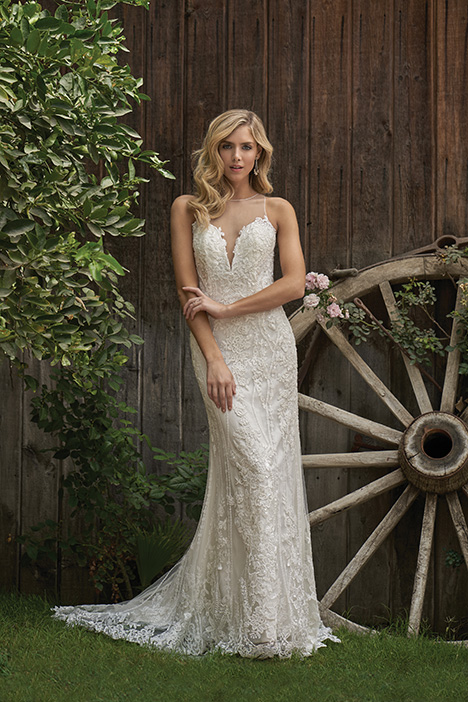 F211005 Wedding                                          dress by Jasmine Collection