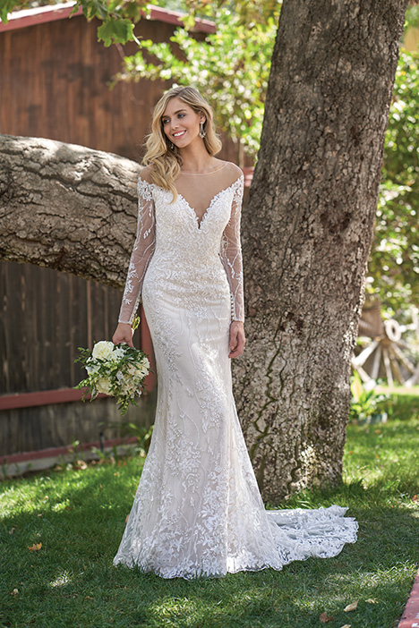 F211006 Wedding                                          dress by Jasmine Collection