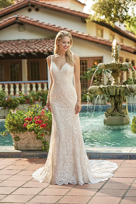 F211008 Wedding                                          dress by Jasmine Collection