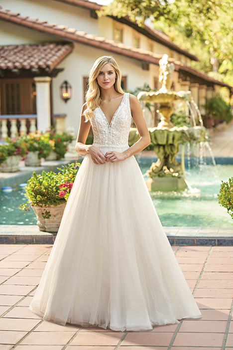 F211014 Wedding                                          dress by Jasmine Collection