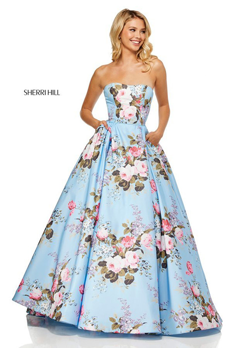52553 Prom dress by Sherri Hill