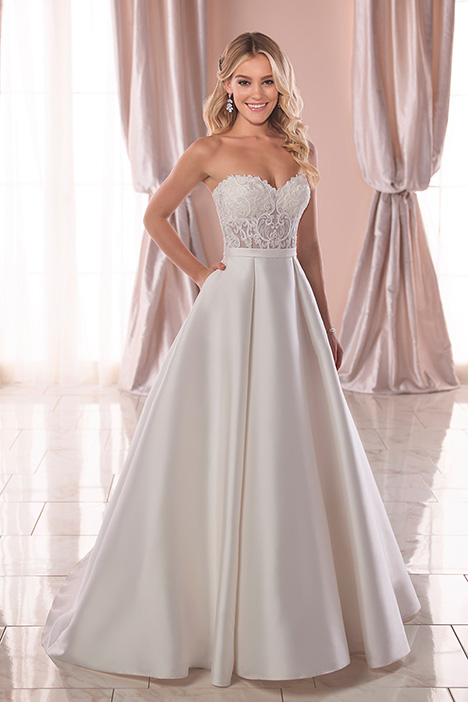6763 Wedding                                          dress by Stella York