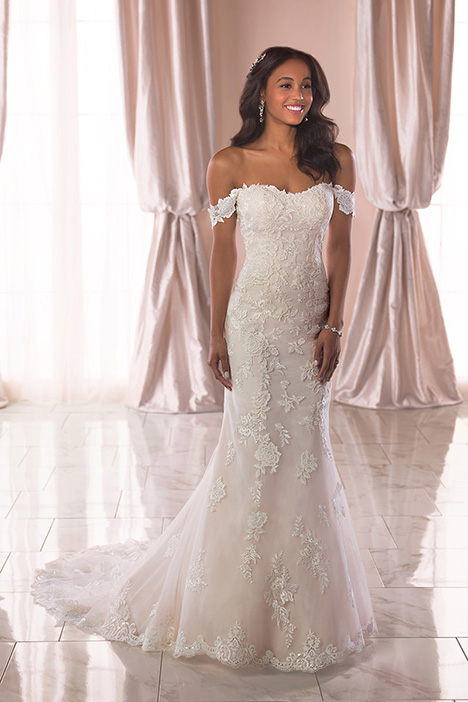 6801 Wedding                                          dress by Stella York