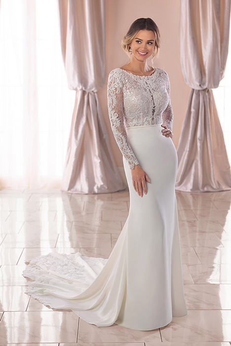 6817 Wedding                                          dress by Stella York