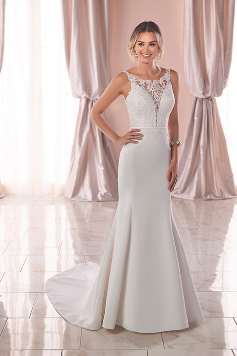 6827 Wedding                                          dress by Stella York