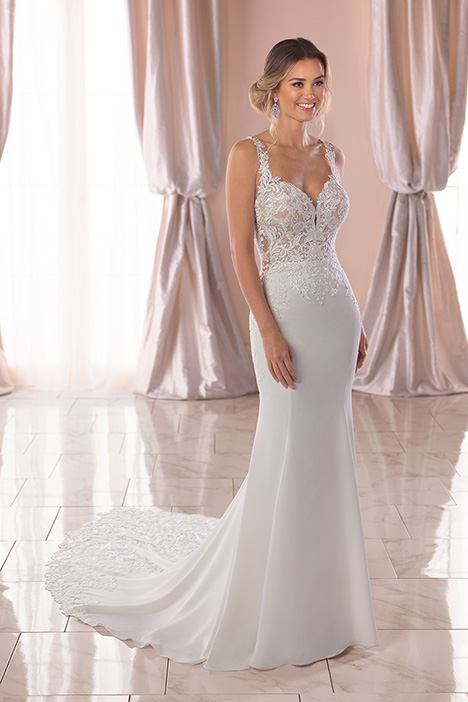 6834 Wedding                                          dress by Stella York
