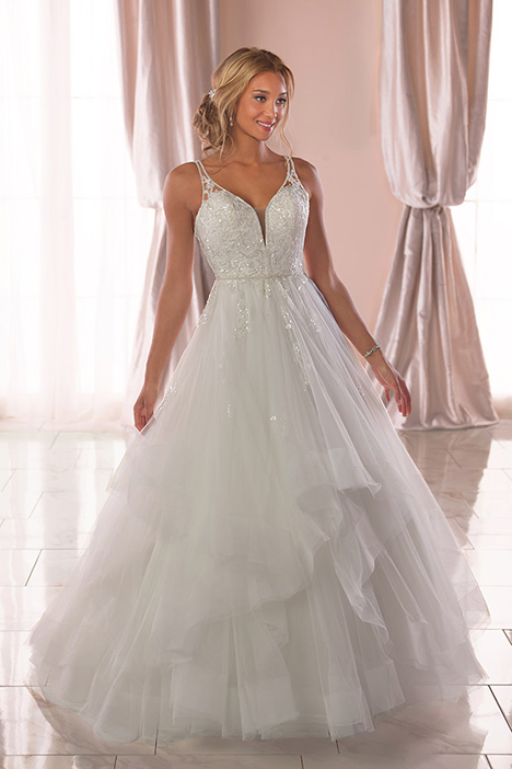 6838 Wedding                                          dress by Stella York