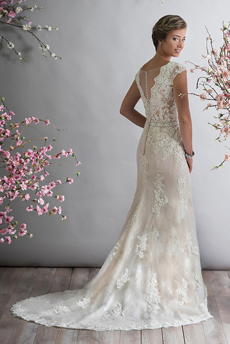 gp1095 (back) Wedding                                          dress by Grace by Bridalane