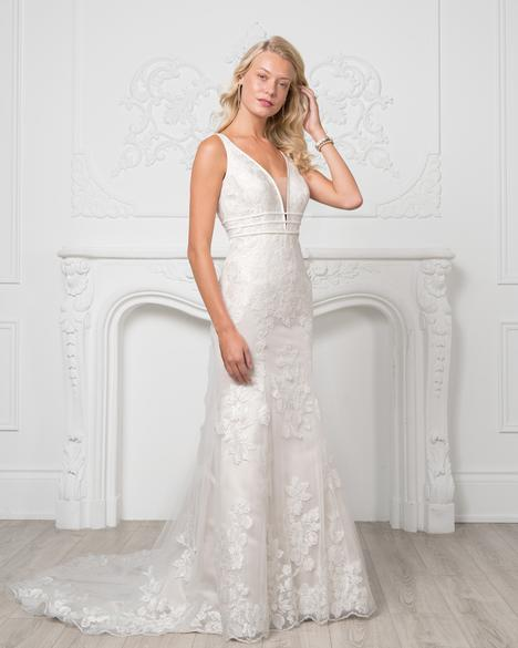 Style 8201 gown from the 2019 Romantic Bridals collection, as seen on dressfinder.ca