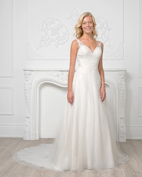 8205 Wedding                                          dress by Romantic Bridals