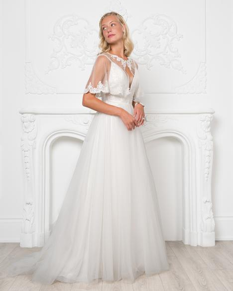 Style 8214 gown from the 2019 Romantic Bridals collection, as seen on dressfinder.ca