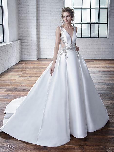 Calla Wedding                                          dress by Badgley Mischka Bride