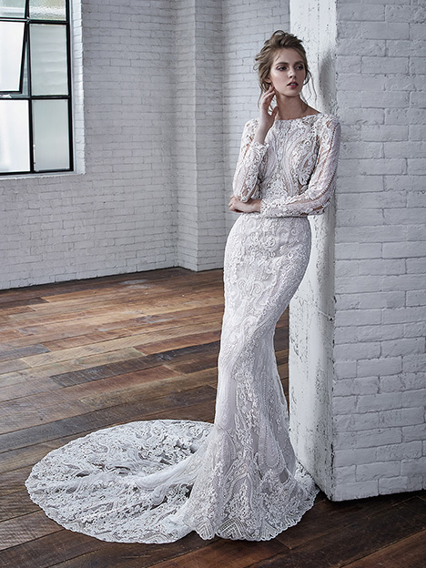 Callista Wedding                                          dress by Badgley Mischka Bride