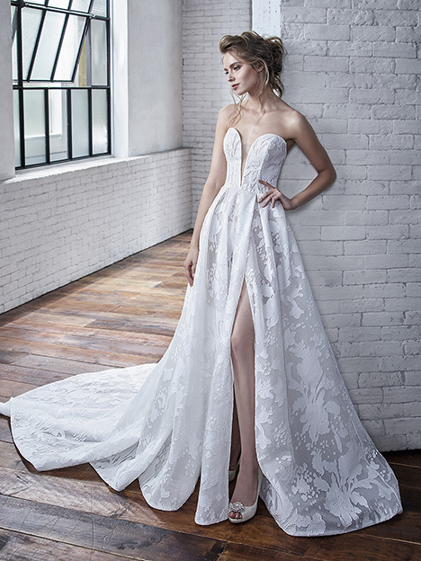 Carina Wedding                                          dress by Badgley Mischka Bride