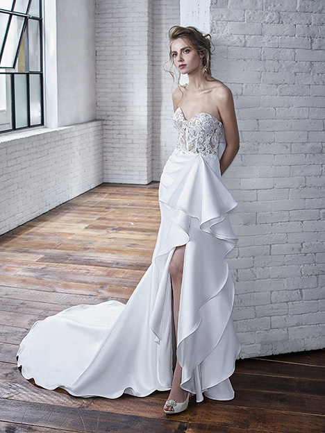 Carmela Wedding                                          dress by Badgley Mischka Bride
