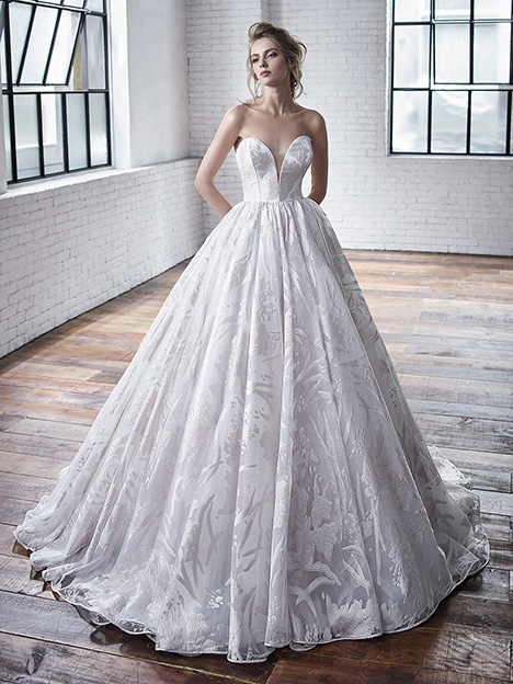 Carrington Wedding                                          dress by Badgley Mischka Bride