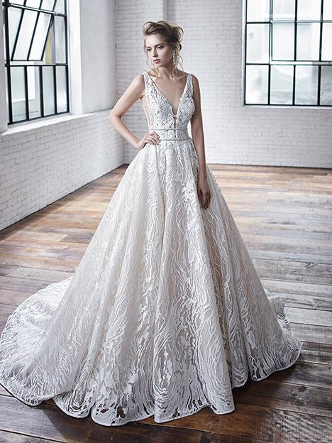 Celeste Wedding                                          dress by Badgley Mischka Bride