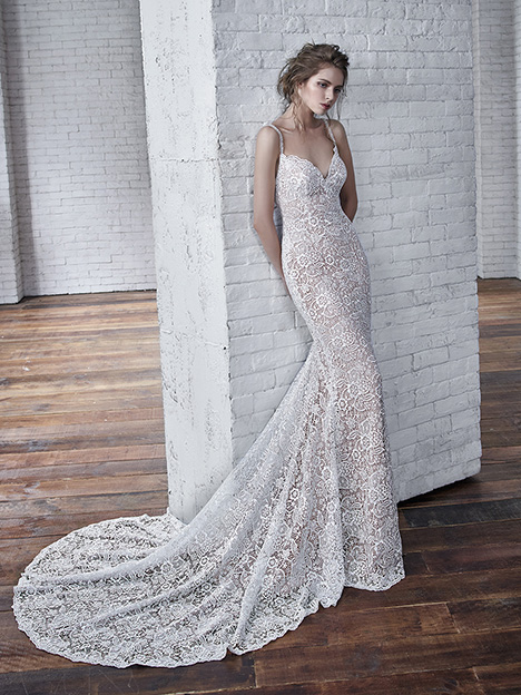 Christy Wedding                                          dress by Badgley Mischka Bride