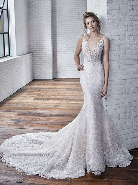 Cindy Wedding                                          dress by Badgley Mischka Bride