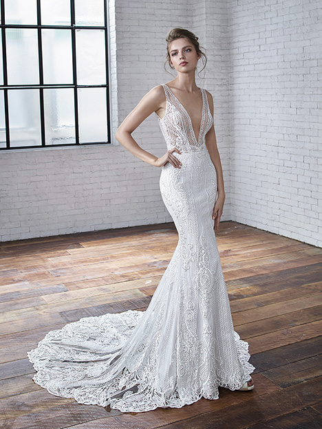 Clarice Wedding                                          dress by Badgley Mischka Bride