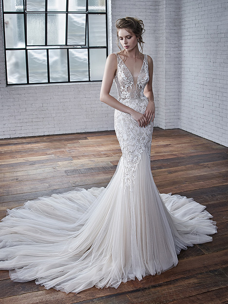 Coco Wedding                                          dress by Badgley Mischka Bride