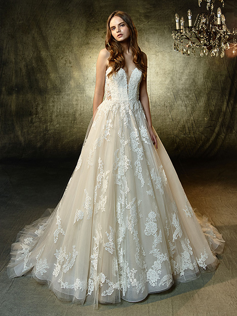 Landry Wedding                                          dress by Blue by Enzoani