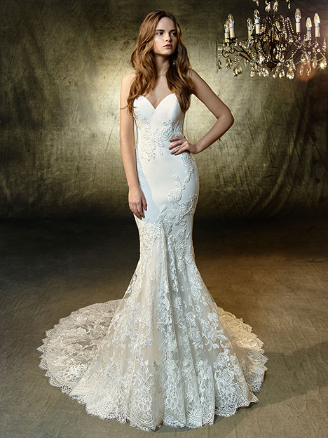 Laura Wedding                                          dress by Blue by Enzoani