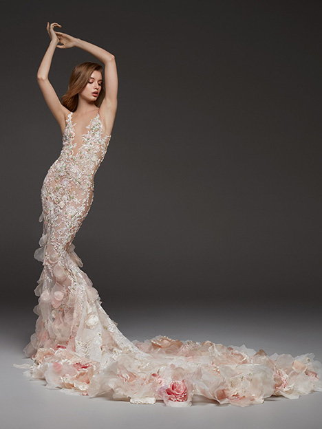 Carolina gown from the 2019 Pronovias Atelier collection, as seen on dressfinder.ca