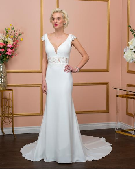 8015 Wedding                                          dress by Romantic Bridals