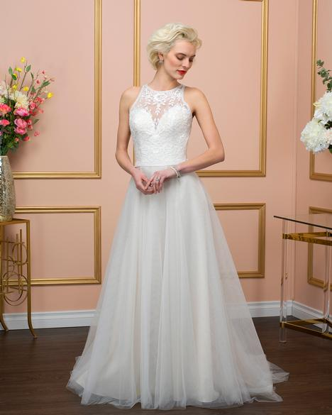 Style 8022 gown from the 2018 Romantic Bridals collection, as seen on dressfinder.ca