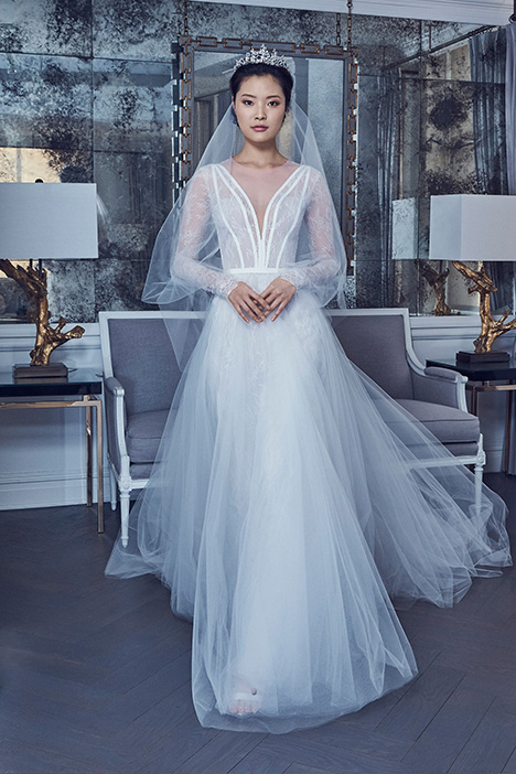 RK9407 Wedding                                          dress by Romona Keveza Collection